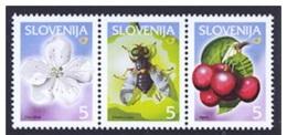 Slovenia Slowenien 2000 MNH** Mi 313-315 Lokal Fruits - Slovénie