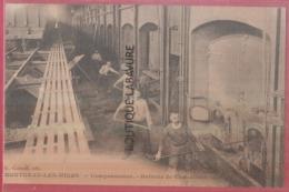 71 - MONTCEAU LES MINES--Compresseurs--Batterie De Chaudieres--animé - Montceau Les Mines