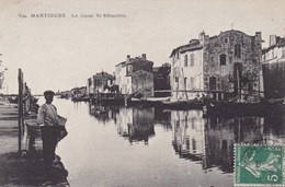 MARTIGUES LE CANAL ST SEBASTIEN (dil86) - Martigues