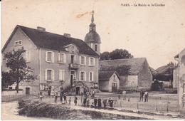 VARS - La Mairie Et Le Clocher - France