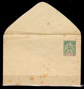 Guadalupe-SP-0001 - Intero Postale (bustina) Del 1892-1900 Da 5 Centimes. - Guadalupe (1884-1947)