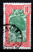 """Madagascar (French Colony), """"Woman Hova"""", 10c., 1930, VFU - Used Stamps"""