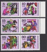 DDR / Märchen (V): Brüderchen Und Schwesterchen / MiNr. 1545-1550 - Unused Stamps
