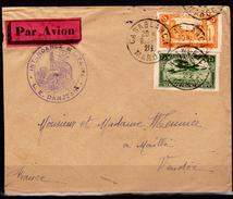 Marocco-Francese-SP-0001 Busta Da Autorità Militare In Casablanca. - Marruecos (1891-1956)