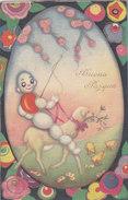 CARD Lotto 4 Cards DUDOVICH- CHIOSTRI BUONA PASQUA GROSSO UOVO PECORA  - FP-V-2-0882-27357-21834-19185-18809 - Illustrateurs & Photographes