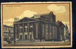 Cpa De Pologne Kattowitz Stadttheater  NCL82 - Poland