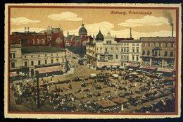 Cpa De Pologne Kattowitz , Friedrichsplatz  NCL82 - Poland