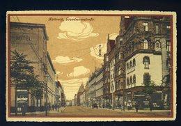 Cpa De Pologne Kattowitz , Grundmannstrasse NCL82 - Poland