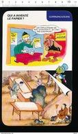 Humour Invention Du Papier Fabrication Du Papier En Chine / Cocotte En Papier / 01/D-35 - Vieux Papiers