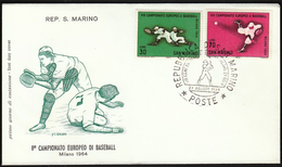 San Marino 1964 / European Baseball Championship - Baseball