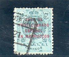 MAROC 1916-20 O - Spanish Morocco