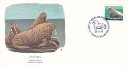 Canada, Atlantic Walrus / Odobenus Rosmarus. Ottawa 1.8.1989 - Timbres