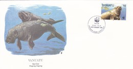 Vanuatu, Sea Cow / Dugong Dugong. Port Vila 29.Feb.1988 - Mammifères Marins