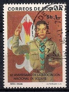 (A) Bolivia 1976 - The 60th Anniversary Of The Bolivian Boy Scouts   Used - Bolivia