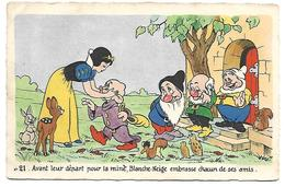 DISNEY - Blanche Neige Et Les 7 Nains - N° 21 - Disney