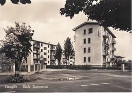 CARTOLINA - POSTCARD - BERGAMO - TREVIGLIO - VIALE BUONARROTI - Bergamo