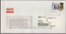 Ems Dollart Post - Umschlag - Marke: Häuser - 06/2014 - BRD