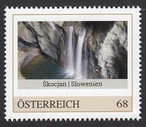 ÖSTERREICH 2016 ** Höhlen Von Skocjan In Slowenien, UNESCO Welterbe - PM Personalized Stemp MNH - Natur