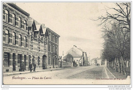 BASTOGNE ..--  Place Du Carré .     J. THIRY , Liqueurs . - Bastogne
