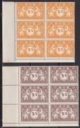 Guyane 1945 - N°182 à N°187 En Blocs De 6 - TTB - French Guiana (1886-1949)