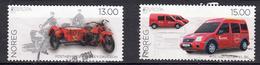 Noorwegen 2013 Mi Nr 1816 + 1817 Postauto ;  Harley-Davidson + Ford Connect -1 - Norway