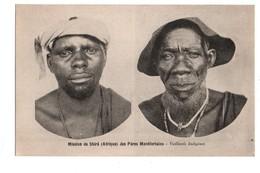ETHIOPIE . Mission De Shiré Des Pères Montfortains . Vieillards Indigènes - Réf. N°3086 - - Ethiopie