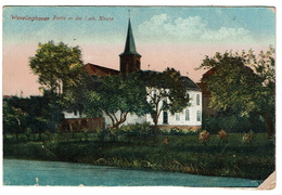 WEVELINGHOVEN - Partie An Der Kath. Kirche - 1919 - 2 Scans - Other