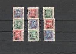 EXTRA CHINA - 09.   3 COMPLET SETS. MNH**. - 1949 - ... République Populaire