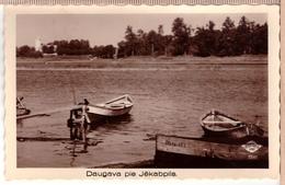 LATVIA.LETTLAND. DAUGAVA PIE JEKABPILS Photo Postcard FOTOBROM - Letonia