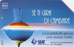 *ITALIA: SE TI GIRA DI CAMBIARE* - Scheda Usata (variante NON CATALOGATA) - Italie