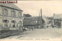 FRESNOY-LA-RIVIERE BUREAU TELEPHONIQUE HOTEL RESTAURANT CAFE BILLARD 60 - Frankreich