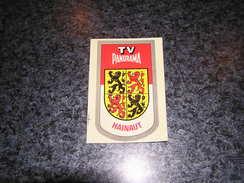 Province Provincie HAINAUT Ecusson Blason Armoiries Belgique Panorama TV Publicité Autocollant Sticker - Aufkleber