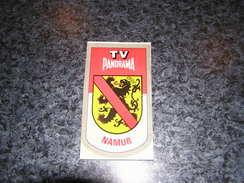 Province Provincie NAMUR Ecusson Blason Armoiries Belgique Panorama TV Publicité Autocollant Sticker - Autocollants