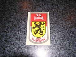 Province Provincie OOST VLAANDEREN Ecusson Blason Armoiries Belgique Panorama TV Publicité Autocollant Sticker - Stickers