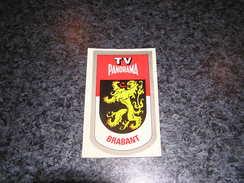 Province Provincie BRABANT Ecusson Blason Armoiries Belgique Panorama TV Publicité Autocollant Sticker - Stickers