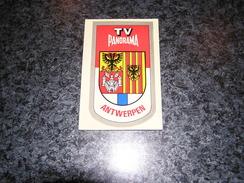 Province Provincie ANTWERPEN ANVERS Ecusson Blason Armoiries Belgique Panorama TV Publicité Autocollant Sticker - Autocollants