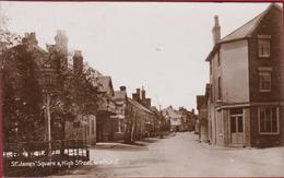 St James Square & High Street Wadhurst East Sussex Wealden England Old Postcard United Kingdom - Non Classés