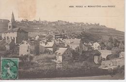 CPA Rodez Et Monastère-sous-Rodez (très Beau Plan) - France