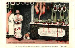 Patriotique 140, Satirique A Thiers, La Boucherie Impériale - Patriotiques