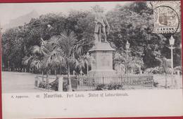 ILE MAURICE( Mauritius ) : PORT LOUIS : Statue Of Labourdonnais - Maurice