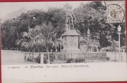 ILE MAURICE( Mauritius ) : PORT LOUIS : Statue Of Labourdonnais - Mauritius