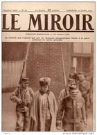 Journal LE MIROIR (1914/1918) N°59 DU  10/01/1915 LE Lt DE HUSSARDS VON FORSTNER PRISONNIER PASSE EN GARE DE REIMS - Newspapers