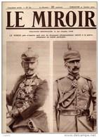 Journal LE MIROIR (1914/1918) N°62 DU  31/01/1915 LA GUERRE ET LA MALADIE ONT VIEILLI LE KAISER ( Interdit En ALLEMAGNE - Journaux - Quotidiens