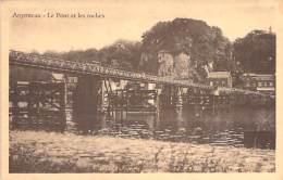 BELGIQUE ( Liege Oupeye ) ARGENTEAU : Le Pont Et Les Roches - CPSM PF 1948 - Belgium Belgien België - Oupeye