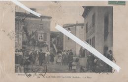 LOT 0994 DROME ST BARTHELEMY LE PLEIN LA PLACE ANIMEE 1918 - France