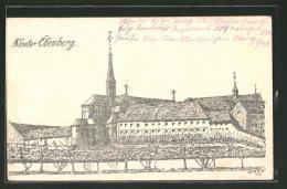 CPA Illustrateur Reiningue, Vue De Das Kloster Ölenberg - France