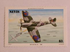 NEVIS  1986   LOT# 3  SPITFIRE PLANE - St.Kitts-et-Nevis ( 1983-...)