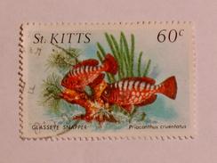 ST. KITTS  1984   LOT# 5  FISH - St.Kitts-et-Nevis ( 1983-...)