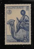 MAURITIUS  , 1938-40,   SCOTT # 77,  CAMEL RIDDER,  MNH - Maurice (1968-...)