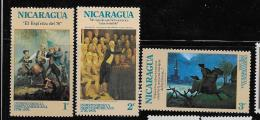 NICARAGUA,  1970. SCOTT # 969-70-71  MNH - Nicaragua